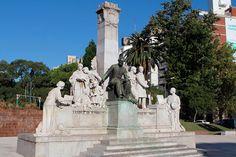 monumento-a-jose-pedro-varela-2 Montevideo, Uruguay Tourism, Tour Guide, Statue Of Liberty, Mount Rushmore, Sculptures, Tours, World, Travelling