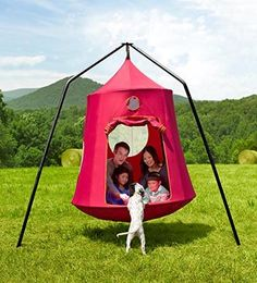 Family HugglePod® HangOut™ Special in Collection Accessories Outdoor Toys, Outdoor Play, Outdoor Areas, Tree Tent, Interior Led Lights, Backyard Playground, Backyard Toys, Natural Playground, Play Yard