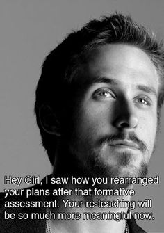 I don't really get Ryan Gosling, but I am studying for the RICA.  So.