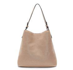 7324a395538d Blush Clara Laser Cut Shoulder Bag