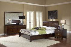 Cleriti 4PC King Bedroom Set  $2,399.99 Sku:110031 The Cleriti bedroom collection is a unique contemporary style. The clean lines and small accents of this collection will give any room a light open feel. Please visit our website for benefits and warranties.