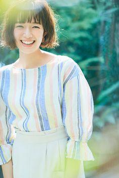 Japanese Fashion, Fashion Inspiration, Ruffle Blouse, Hairstyles, Women's Fashion, My Style, Beautiful, Tops, Haircuts