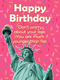 Send Free Forever Younger Than Her! Funny Birthday Card to Loved Ones on Birthday & Greeting Cards by Davia. It's free, and you also can use your own customized birthday calendar and birthday reminders. Free Birthday Card, Birthday Cards For Her, Funny Birthday Cards, Birthday Greeting Cards, Birthday Greetings, Birthday Wishes, Birthday Images, Happy Birthday Woman, Happy Birthday Quotes