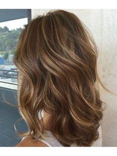 Brown Hair With Blonde Highlights, Brown Hair Balayage, Hair Color Balayage, Carmel Highlights, Carmel Brown Hair, Hair Styles Highlights, Light Brown Hair Lowlights, Brown Highlighted Hair, Dark Brown Hair With Highlights Balayage