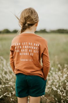 Modern Burlap is a children's lifestyle brand offering black + white products for us + you! Christian Clothing, Christian Shirts, Christian Apparel, Jesus Clothes, Jesus Shirts, Graphic Sweatshirt, T Shirt, Before Us, Cute Shirts