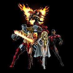 Marvel: Avengers Alliance - The Phoenix 5