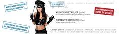 Personalanzeigen von #CRIMEX Berlin, Partner, Promotion, Shopping, Running Away, Corporate Gifts, Hamburg