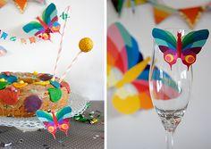 diy geburtstagsdeko zum selbermachen mit seidenpapier-pompoms, Hause und garten