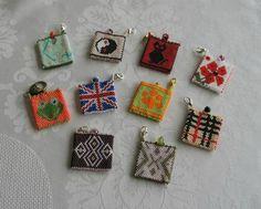 porte jetons Beaded Boxes, Beaded Purses, Beaded Jewelry, Peyote Patterns, Loom Patterns, Beading Patterns, Seed Bead Projects, Peyote Beading, Bijoux Diy