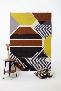 Tapis Mapoésie - Harmonie caramel #design #decoration #rug