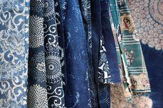 wgsn: Traditional Japanese indigo textiles via tumblr