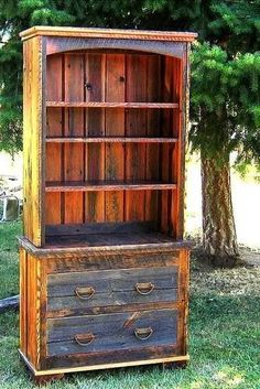Country Roads 2 Piece Bookcase