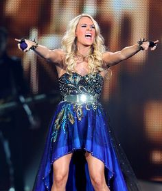 Great Show, Eh? Carrie Underwood performed for her Canadian fans in Calgary, Alberta October 3.