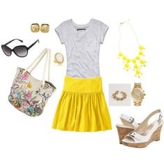 Summer time, created by hosefish on Polyvore
