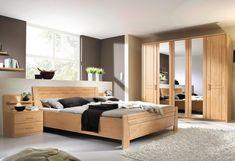 Schlafzimmer Komplettset in Schwarz Hochglanz modern (5-teilig ...