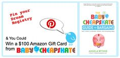 The Baby Cheapskate Guide to Bargains Dream Registry Pinterest Contest