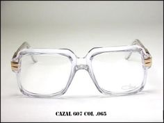 NEW-CAZAL-607-065-EYEGLASSES-LEGEND-VINTAGE-CRYSTAL-CLEAR-100-AUTHENTIC