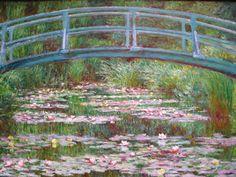Claude Monet | Claude Monet, le pont japonais. Le vocabulaire du jardin. « Peinture ...
