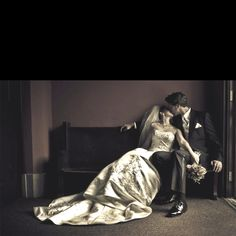 Wedding pic; see, something like this, but on a bench! Something sweet! :D