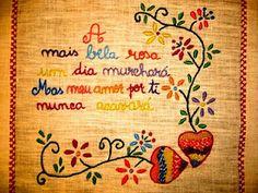 Lenços de namorados Handkerchiefs, Brazil, Portugal, Patches, Embroidery, Stitch, Handmade, Geometric Fashion, Embroidery Ideas