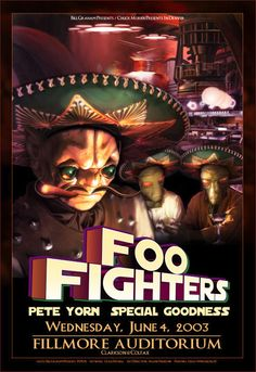 GigPosters.com - Foo Fighters - Pete Yorn - Special Goodness