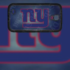 New York Giants Design on Samsung Galaxy S4 Black Rubber Silicone Case by EastCoastDyeSub on Etsy https://www.etsy.com/listing/173160329/new-york-giants-design-on-samsung-galaxy