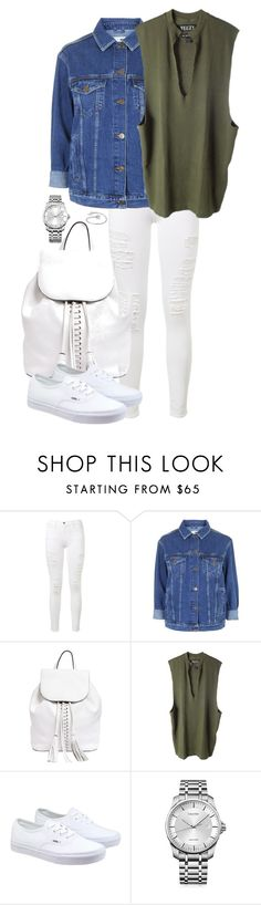 """Untitled #219"" by lauralovefashion1 ❤ liked on Polyvore featuring Frame Denim, Topshop, Rebecca Minkoff, adidas Originals, Vans and Calvin Klein"