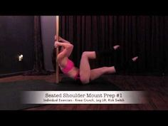 Pole Core: Beginner Pole Fitness Strengthening Exercises Presented by Dakota Fox of Aradia Fitness NC Some of Dakota's favorite strengthening exercises for ladies (and gents) just get started with pole dancing... for beginner/intermediate level ladies looking to build more strength... or even for advanced ladies looking for a few new exercises...