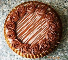 Prajitura Amandina reteta Amandine de cofetarie Tort Amandina