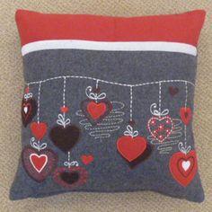 Christmas Cushion - Bauble design