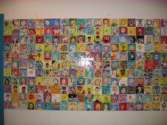 tile mural kids - Google Search