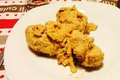 Fuselli di pollo alle arachidi
