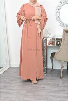 Hijab Style Dress, Modest Fashion Hijab, Modern Hijab Fashion, Hijab Fashion Inspiration, Islamic Fashion, Abaya Fashion, Muslim Fashion, Mode Inspiration, Frock Fashion