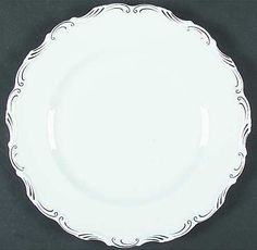 """""""Orleans"""" china pattern from Royal Albert."""