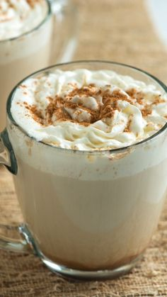 The Best Homemade Pumpkin Spice Latte Make the popular coffee house pumpkin spice latte at home. Canned or homemade pumpkin puree both work well in this recipe. Here's our recipe for making pumpkin puree from scratch. Homemade Pumpkin Spice Latte, Pumpkin Spiced Latte Recipe, Pumpkin Spice Coffee, Spiced Coffee, Pumpkin Recipes, Fall Recipes, Snack Recipes, Dessert Recipes, Cooking Recipes