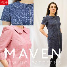 The Kitty Dress PDF sewing pattern DIGITAL DOWNLOAD dress