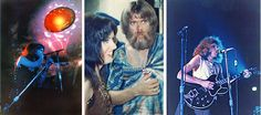 backstage photos jefferson airplane | Grace Slick onstage at The Philadelphia Spectrum and backstage after ...
