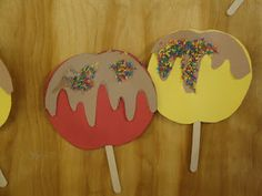 fall bulletin board ideas for preschool | Fall Fun} Crafting Sensory Caramel Apples! | MPM School Supplies Blog