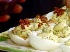BLT Deviled Eggs Recipe : Paula Deen : Food Network - FoodNetwork.com