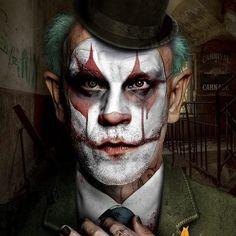 John Malkovich-crazy makeup