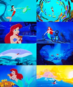 """This is more than my thoughts ever thought it could be. For a moment, just a moment, lucky me."" -- The Little Mermaid 2: Return To The Sea"