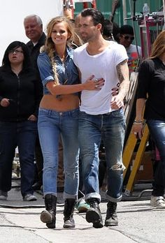1000+ images about ADAM LEVINE on Pinterest | Maroon 5 ... Adam Levine And Anne Vyalitsyna Misery