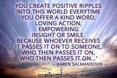 Positive ripples