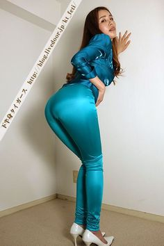 Satin Pencil Skirt, Disco Pants, Compression Pants, Satin Blouses, Dressed To Kill, Satin Dresses, Silk Satin, Leather Pants, Sexy Women