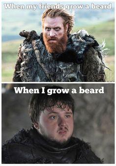 My husband is Tormund. I hate it tho lol