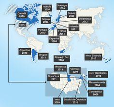 François Hollande promulga lei legalizando o casamento gay na França | Permitido atualmente em 13 países, o casamento gay foi aprovado primeiro na Holanda e depois adotado por Bélgica, Espanha, Canadá, África do Sul, Noruega, Suécia, Portugal, Islândia, Argentina e Dinamarca e, recentemente, Uruguai e Nova Zelândia. http://mmanchete.blogspot.com.br/2013/05/francois-hollande-promulga-lei.html#.UZetpbVQGSo