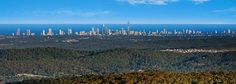 A view like this can only be found at Eagle Heights Hotel in Tamborine Mountain http://ticketsandtours.com.au/accomodation/