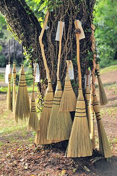 Brooms for sale, Living History Park in North Augusta, SC