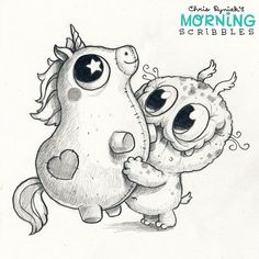 Morningscribbles by Chris Ryniak