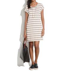 Striped tunic #madewell